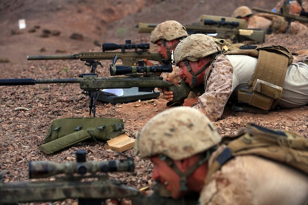 13th MEU Scout Snipers take to hills \u003e 13th Marine Expeditionary