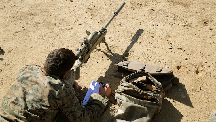 Pre-Scout Sniper Training Passing the torch \u003e 1st Marine Division