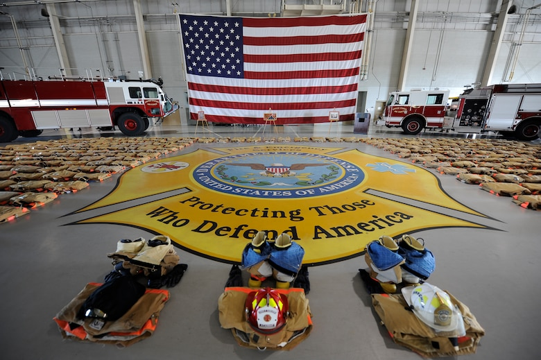 DOD Fire Academy pays respect to the fallen firefighters of 9/11