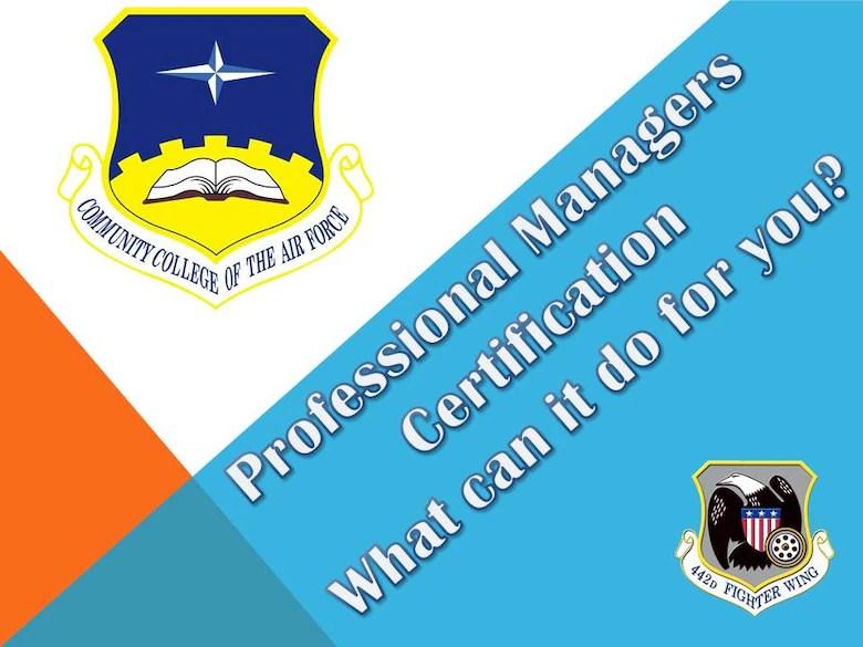 CCAF Credentialing and Certification \u003e 442d Fighter Wing \u003e Article
