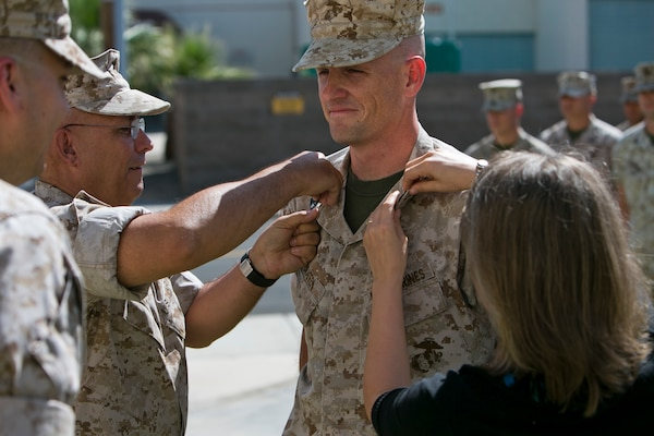 Face of Defense Drill Instructor, Recruit Reunite Decades Later