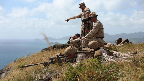 Hawaii Snipers Train in High Angle Shooting \u003e US Indo-Pacific