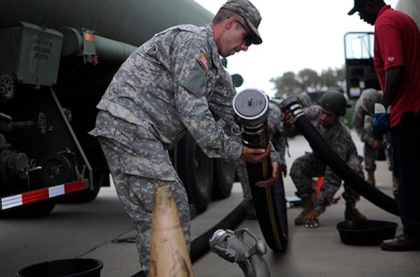 Army Reserve fuelers support DLA Energy during nationwide exercise