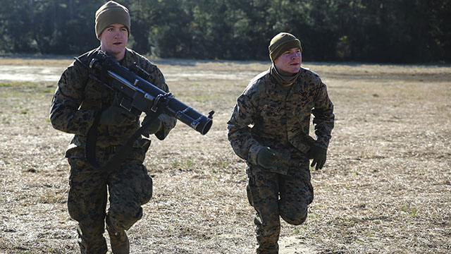 Marines sight in on core infantry skills \u003e The Official United