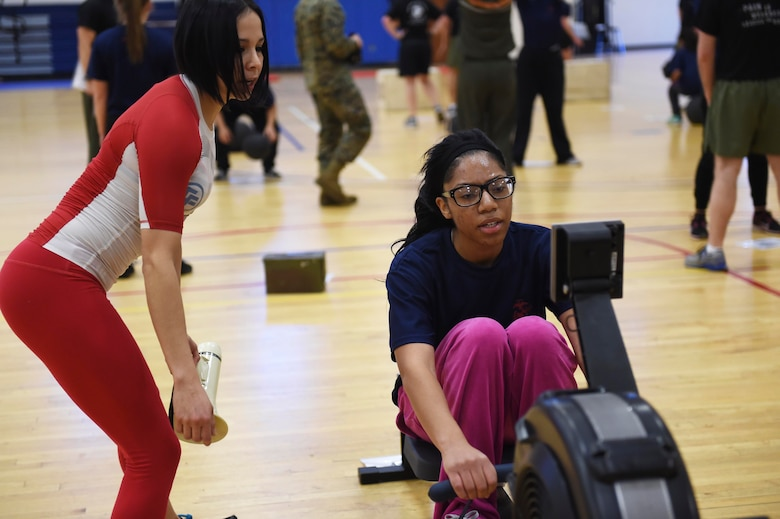 Female US Marine Corps poolees endure DEP workout \u003e Buckley Air