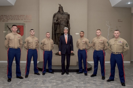 Marine Corps Embassy Security Group Home