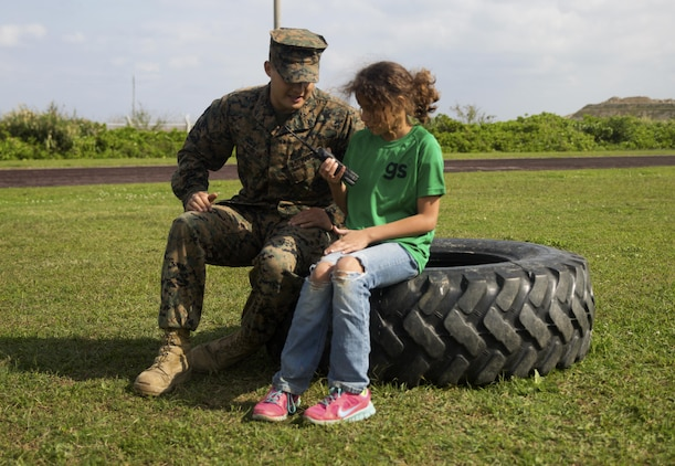 Gung-ho Girl Scouts face Marine challenges during Jane Wayne Day