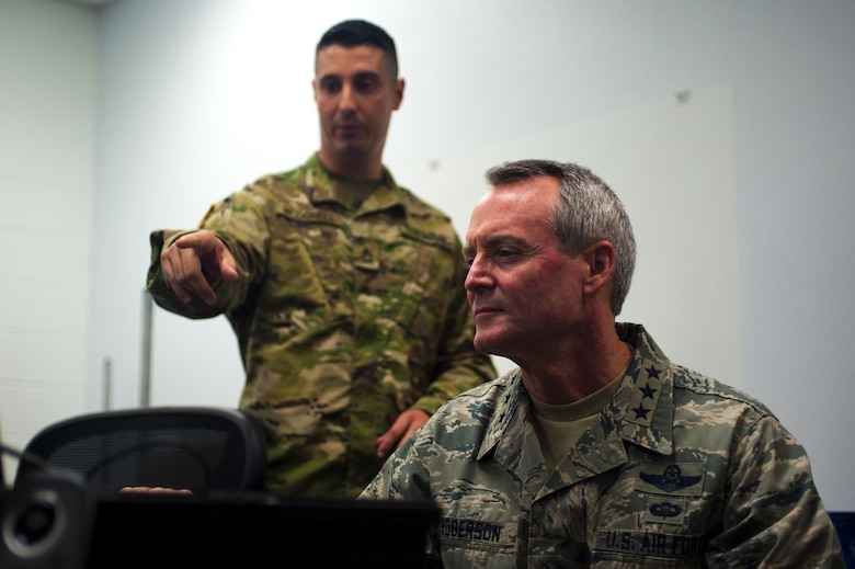 AETC Commander visits Goodfellow Air Force Base \u003e Air Education and