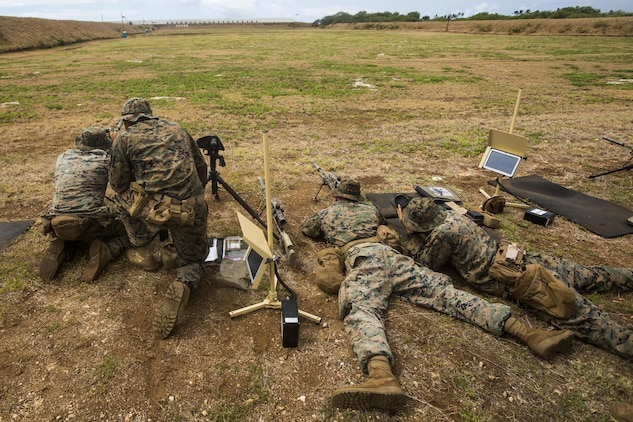 Hunters from afar Scout sniper candidates practice accuracy