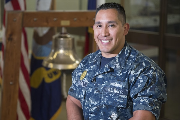 Front  Center Master-at-Arms Sailor excels in recruiting America\u0027s - us navy master at arms