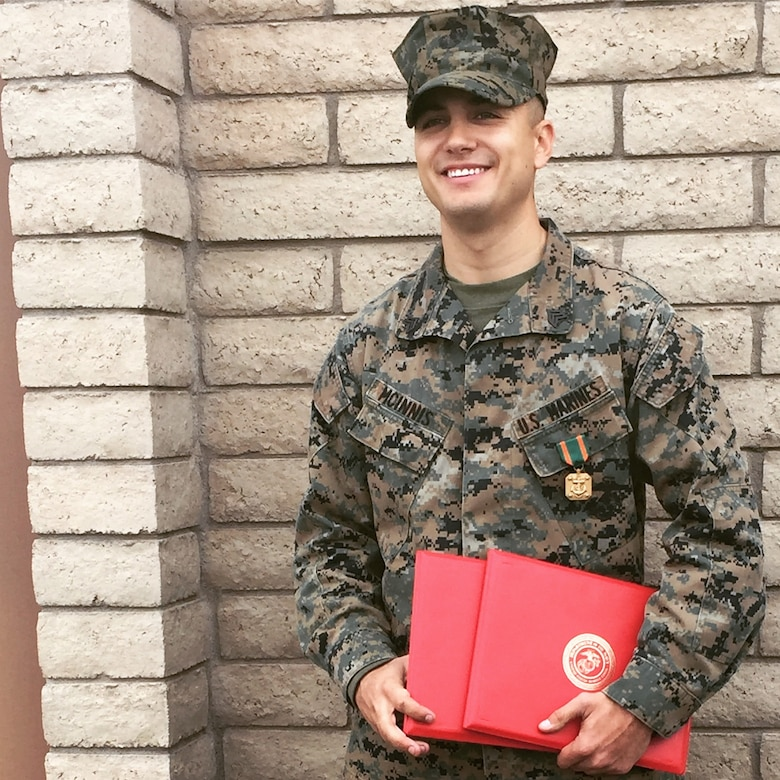 Face of Defense Marine Reservist Protects Family From Attacker