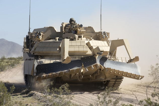 Exercise Desert March tests 1st Tanks \u003e Marine Corps Air Ground