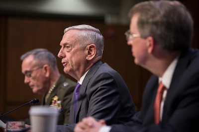 Mattis Highlights Efforts To Restore Military Fight