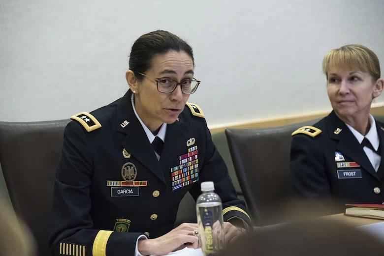 Army general officer \u0027Future Army leader will be a woman\u0027 \u003e US