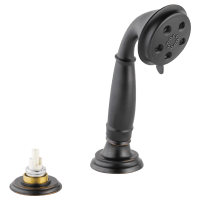 Hand Shower w/ Transfer Valve - Roman Tub RP72767RBLHP ...