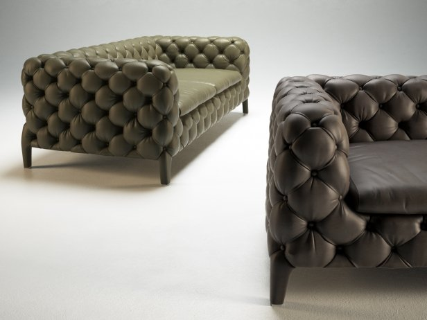 Windsor Sofa 3d model Arketipo - designer sofa windsor arketipo