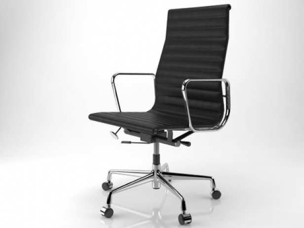 Alu Chair Eames Aluminium Chair 119 3d Model | Vitra, Switzerland
