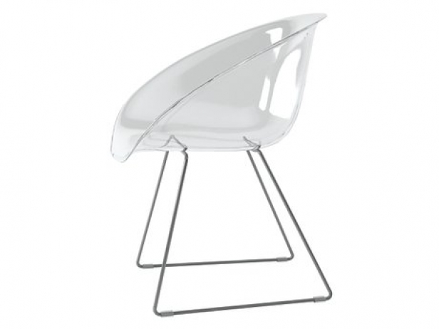 Stuhl Durchsichtig Transparent Chair 3d Model