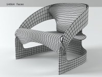 Colombo Chair 3d model | Kartell