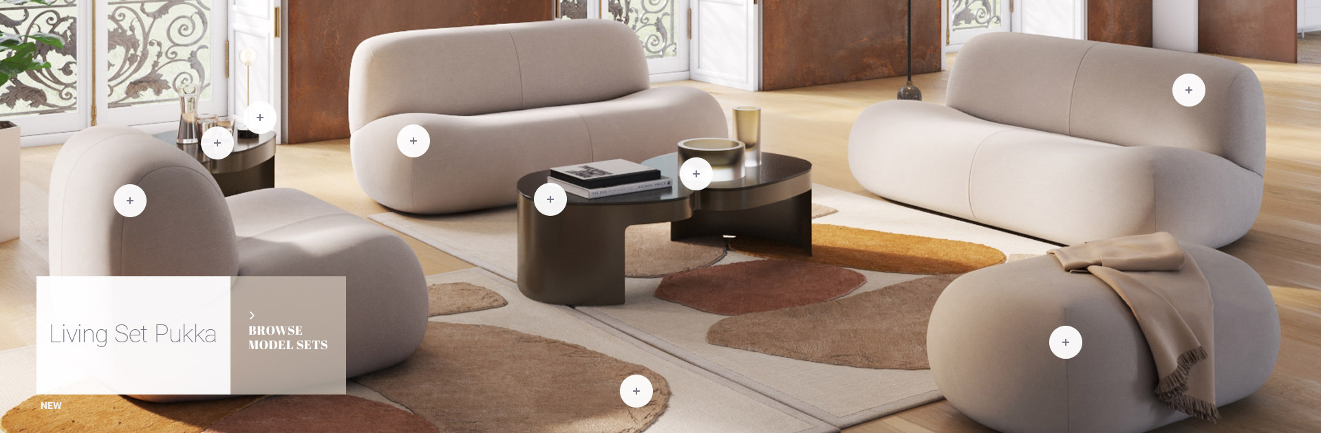 Design Connected 3d Models Of Furniture For Interior Design