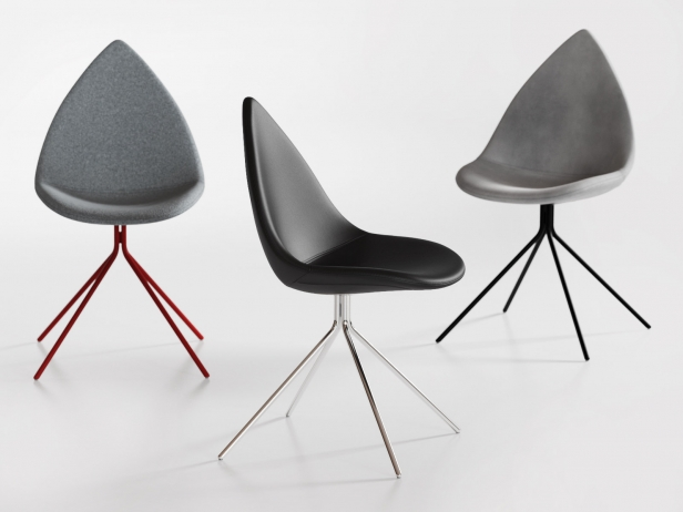 Ottawa Chair 3d Model Boconcept
