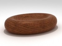 Egg Shape Table 3d model | Classical Geometry Export Trading