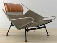 PP225 Flag Halyard Chair 3d model | PP Mobler