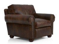 Lancaster Leather Chair 3d model | Restoration Hardware