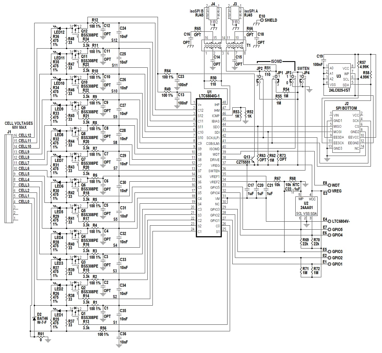 fuel cell stack schematic