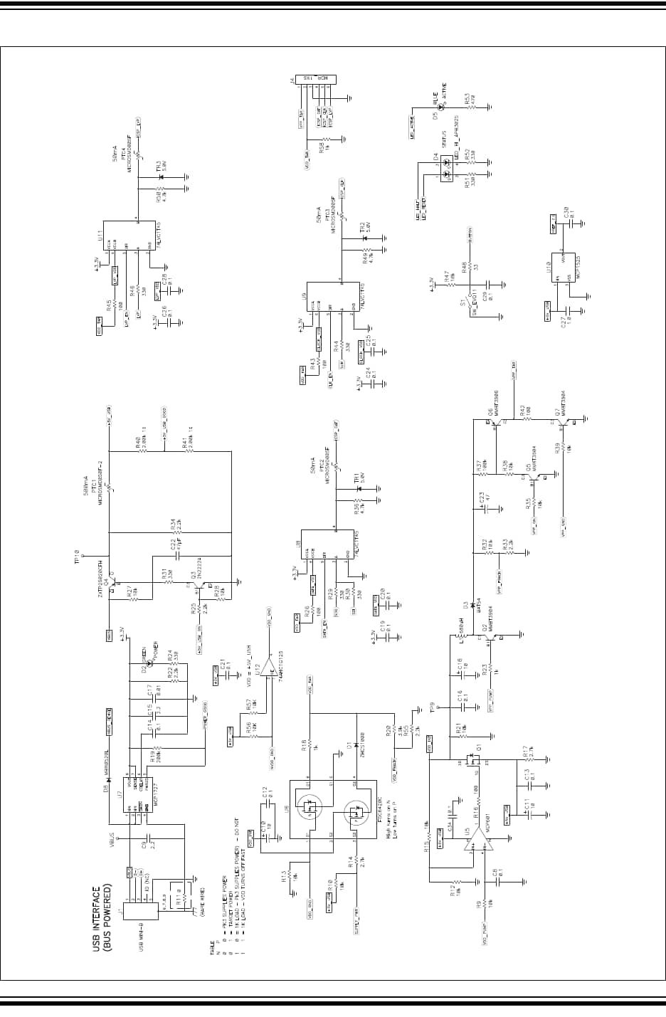 pickit 1 circuit diagram