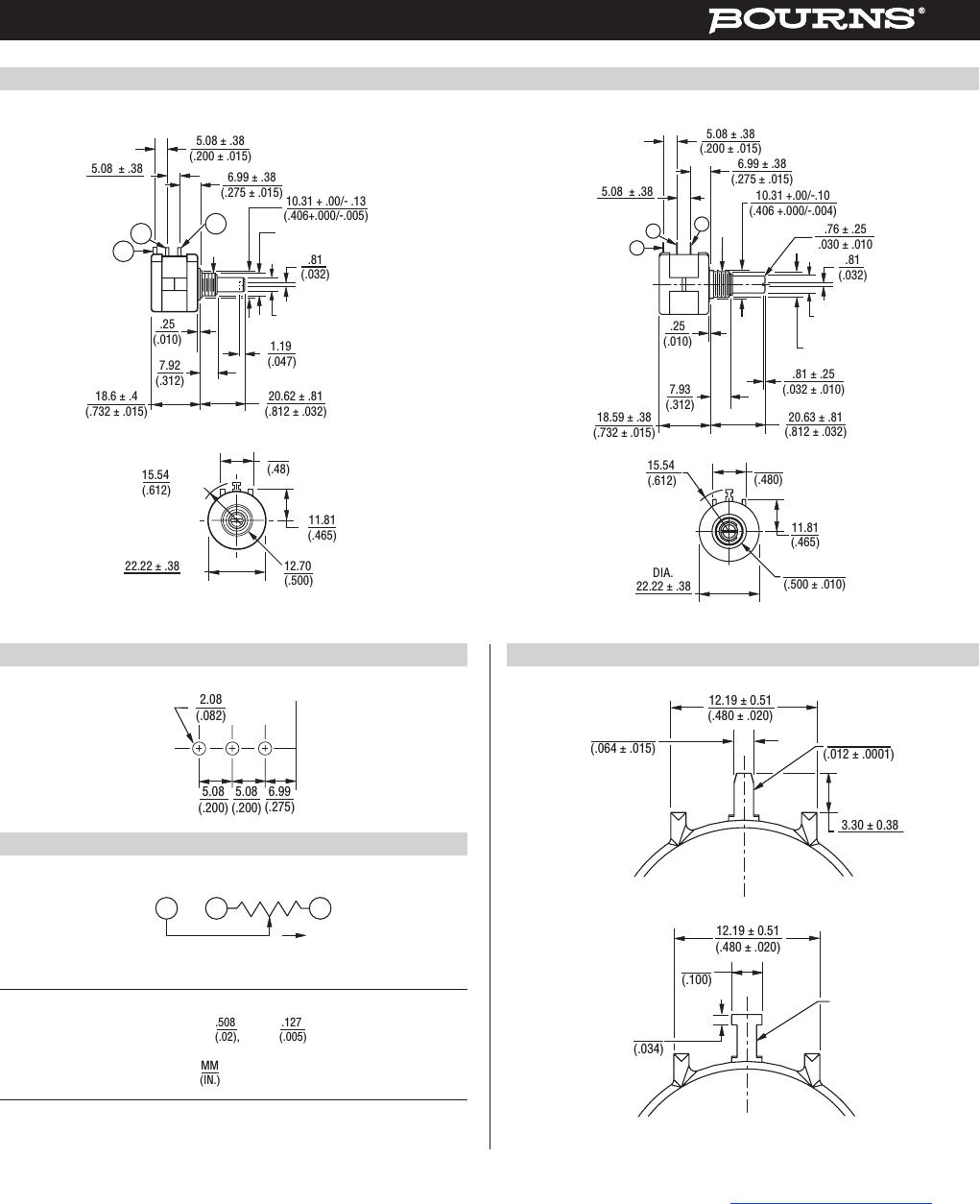 wiring 2 potentiometers in series