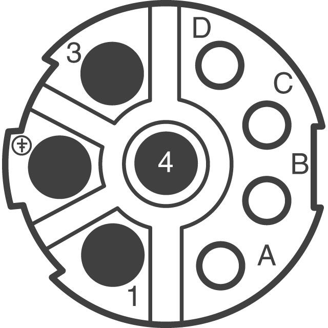 circular hybrid connectors