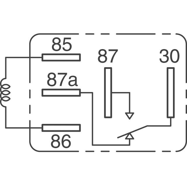 automotive relay circuit