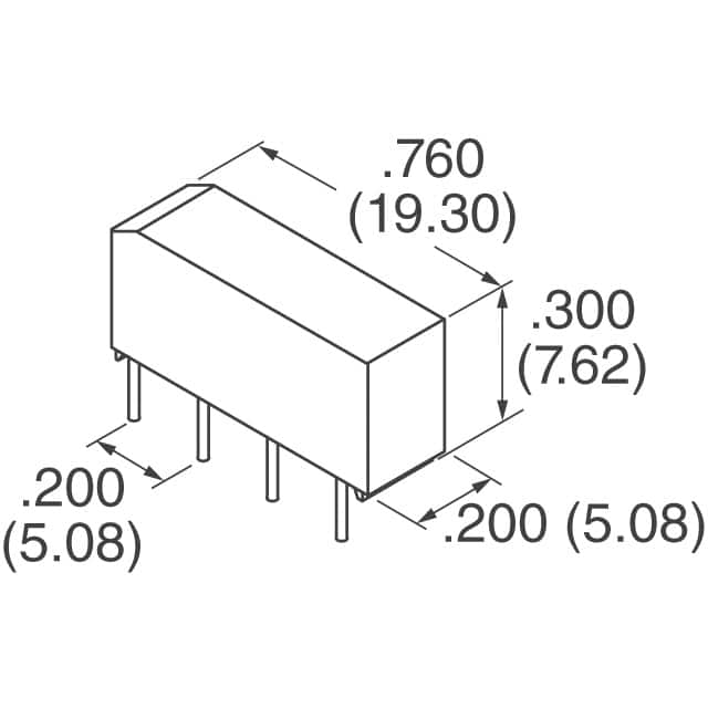 spst reed relay 5vdc coil
