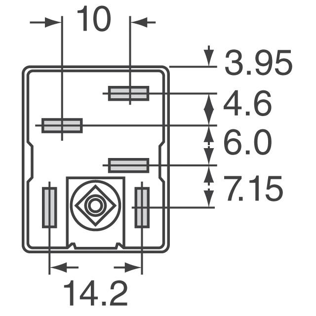spdt relay part number
