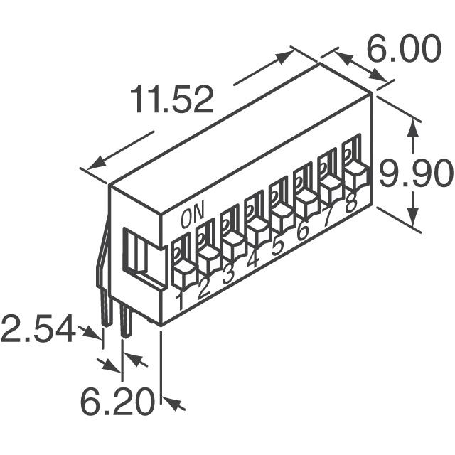 KAS2104ET E-Switch Switches DigiKey