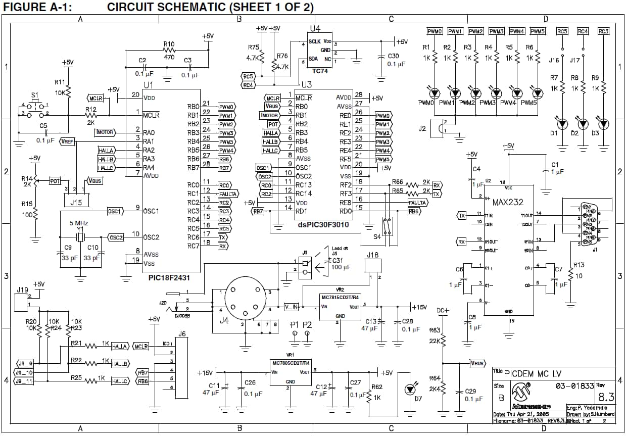 assembled board from schematic 1