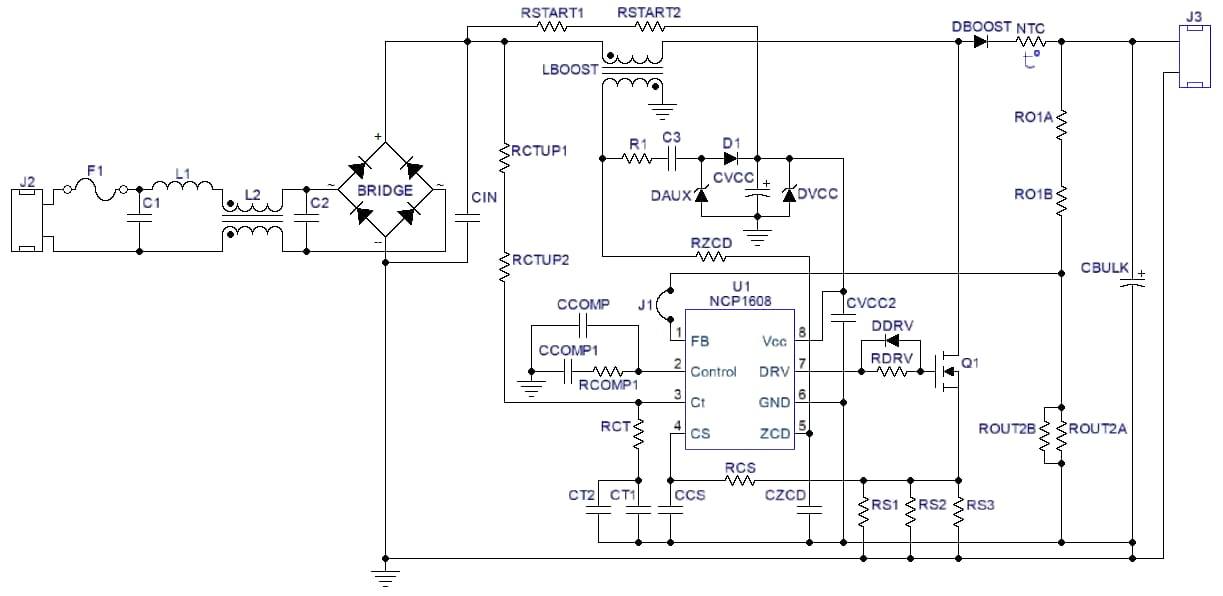 current sensing for high voltage application schematic