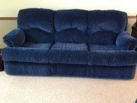 Navy Blue Reclining Sofa Navy Blue Leather Reclining Sofa ...