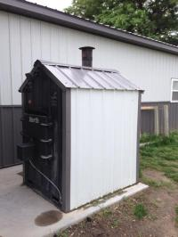 Earth outdoor wood furnace (trade for Chevy or gmc pickup ...