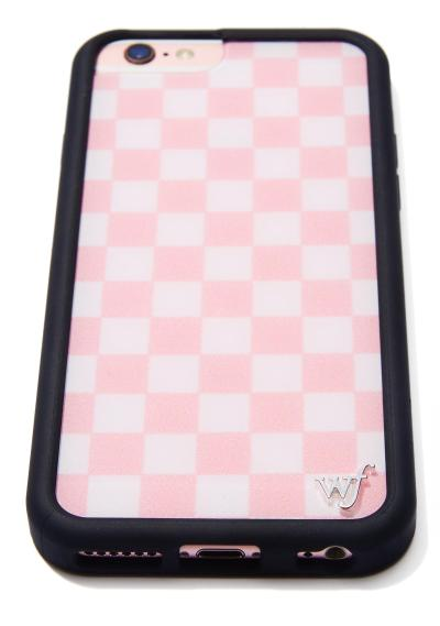 Wildflower Pink Checks iPhone Case | Dolls Kill