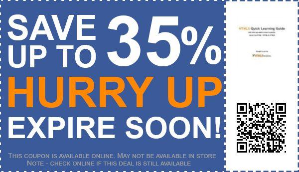 Free html5 coupon template / Upcoming verizon deals