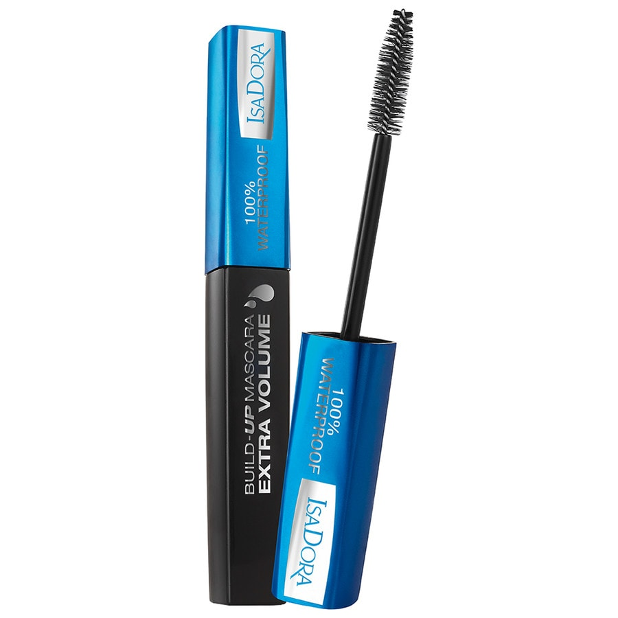 Blaue Wimperntusche Build Up Extra Volume Waterproof