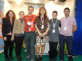 Reîntâlnire cu câțiva internauți la Târgu Neamț la TTR1, 2013