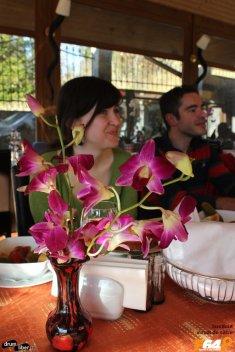 Prânzul cu flori la Hotel Cumpătu