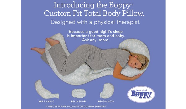 Pregnancy Journal Sleeping Comfortably With The Boppy