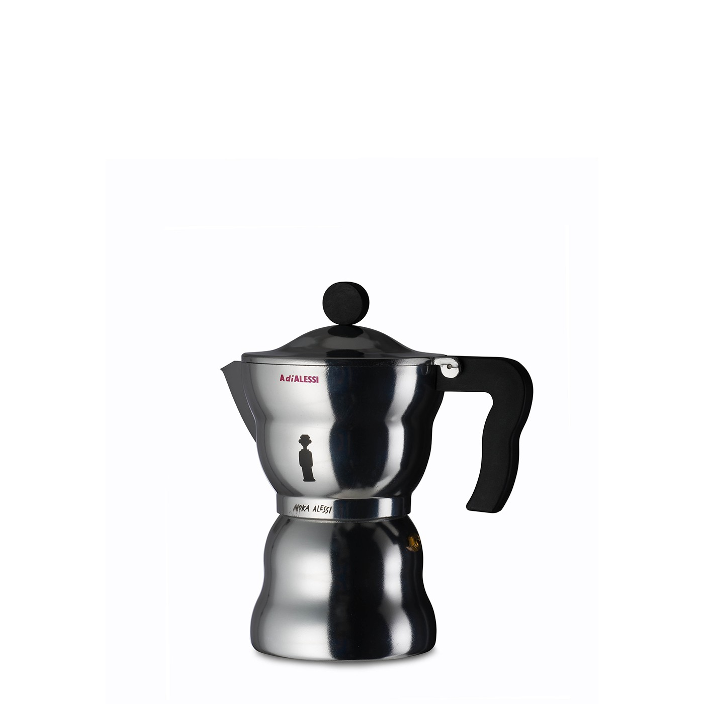 Alessi Espressokocher Moka Espresso Coffee Maker 3 Cups