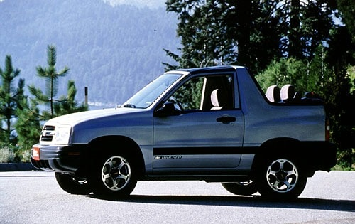 Used 2002 Chevrolet Tracker Pricing - For Sale Edmunds