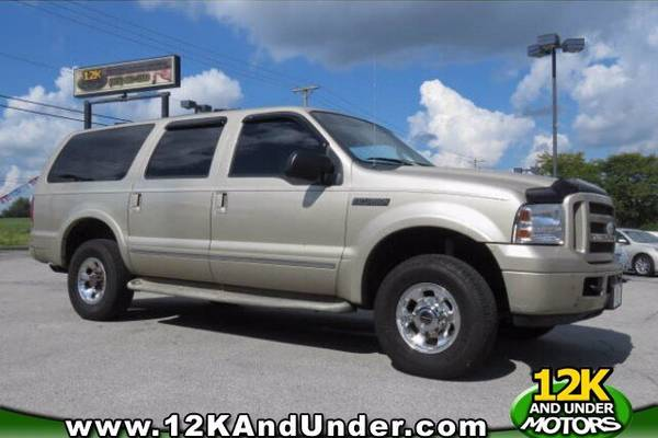 Used Ford Excursion for Sale - Special Offers Edmunds