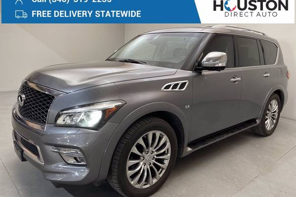 Used INFINITI QX80 for Sale in Midland, TX Edmunds